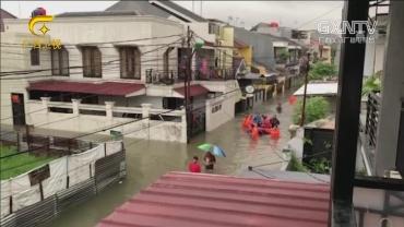 印尼首都遭遇强降雨引发洪灾