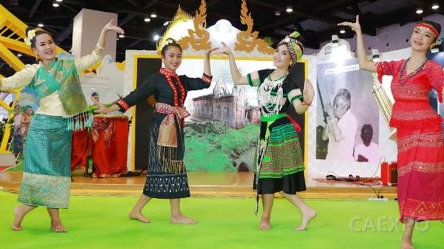 云赏东博会之老挝风情