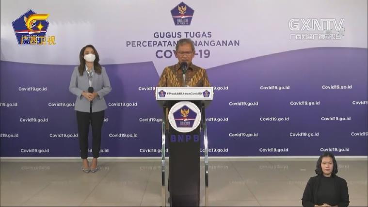 印尼單日新增新冠肺炎確診病例創新高